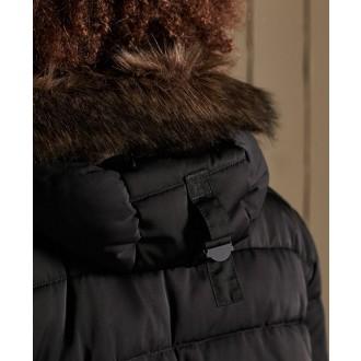 Superdry pánska bunda Chinook Parka 2.0 - Čierna