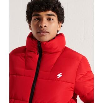 Superdry pánska bunda Non Hooded Sports - Červená