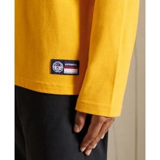 Superdry pánske dlhorukávové tričko T&f - Žltá