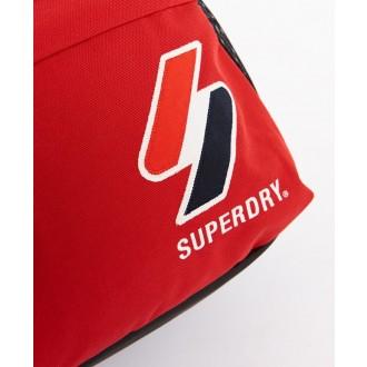 Superdry ruksak Sportstyle Montana - Červená