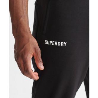 Superdry pánske tepláky Train Core - Čierna