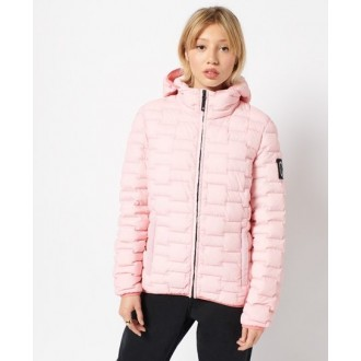 Superdry dámska zimná bunda Expedition Down Windbreaker - Ružová