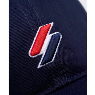 Superdry sportstyle Baseball Cap - Námornícka modrá