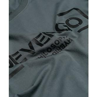 Devergo Pánske dlhorukávové tričko - Tmavosivá
