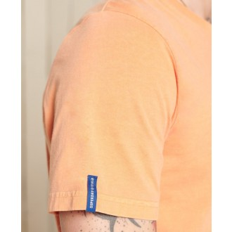 Superdry pánske tričko Vintage Logo American - Oranžová