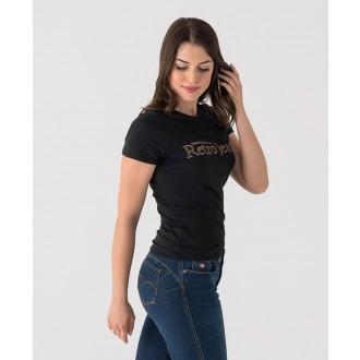 Retrojeans dámske tričko LENA - Čierna