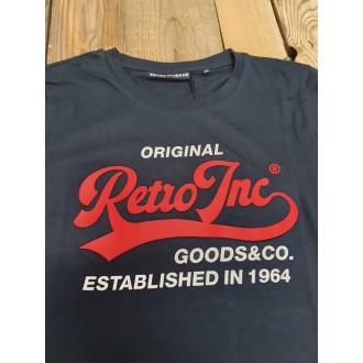Retrojeans pánske tričko CHAMPION - Tmavomodrá