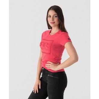 Retrojeans dámske tričko AMELIE T - Ružová