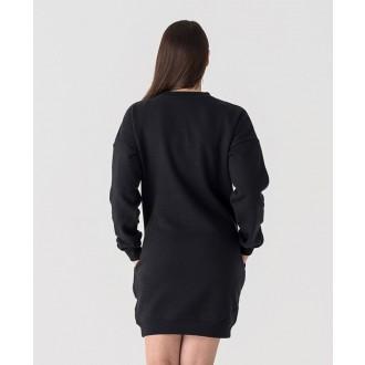 Retrojeans dámske šaty ROSA D - Čierna