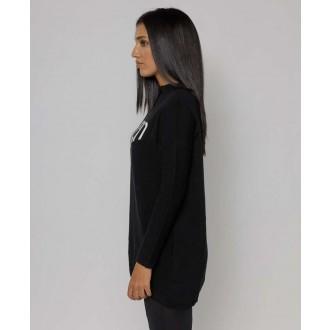 Devergo dámsky pletený pulóver - Čierna