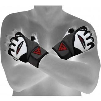 """RDX kožené rukavice Men""""s Power Biele"""