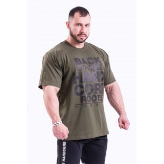 Nebbia HardCore tričko 391 Khaki