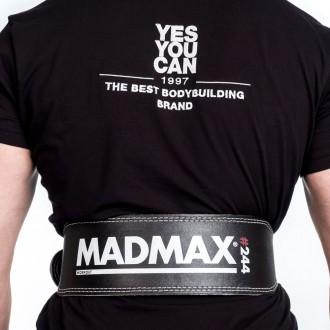 MadMax Fitness Opasok Sandwich Ćierny