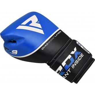 RDX Kožené Boxerské Rukavice T9 - Modré