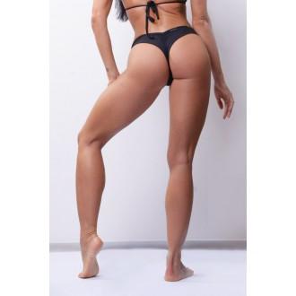 NEBBIA Dámske Bikini Brasil Scrunch Butt 632 - Čierna