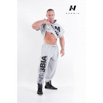 NEBBIA HARDCORE Fitness Tepláky 310