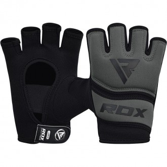 RDX Gelové bandáže rúk X6 - Sivé
