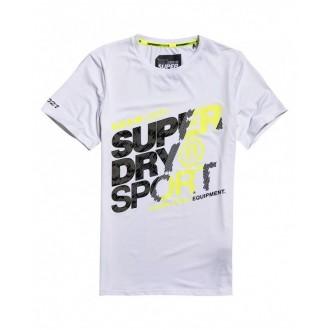 Superdry Pánske športové tričko Active Graphic