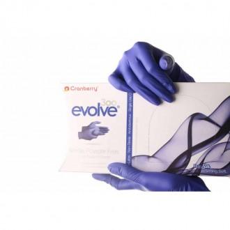 Cranberry ochranné rukavice nitrilové - modré XS
