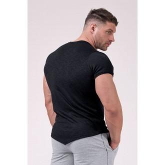 Nebbia Muscle Back Tričko 172 - Čierna