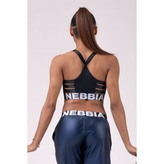 Nebbia športový mini top 515 - Čierna
