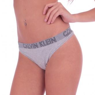 Calvin Klein Tangá ULTIMATE Sivé