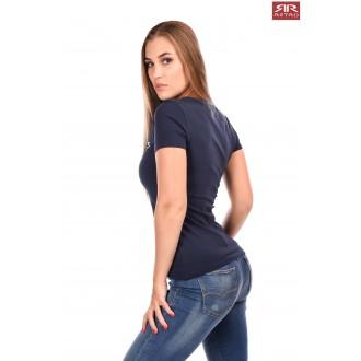 Dámske tričko Retro Jeans Emerson - Tmavomodré