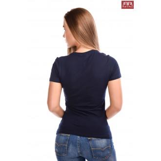 Dámske tričko Retro Jeans Skyla - Tmavomodrá