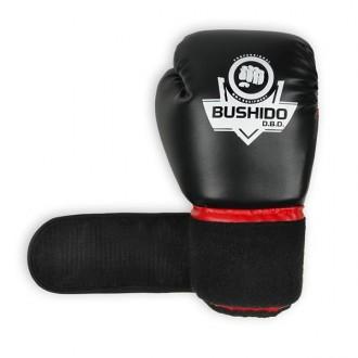 DBX BUSHIDO Boxerské rukavice ARB-407 - Čierne