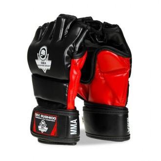 DBX BUSHIDO MMA rukavice e1v3 - Čierne