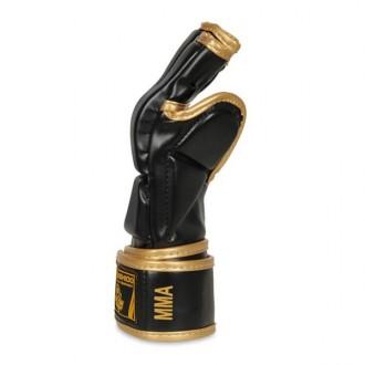 DBX BUSHIDO MMA rukavice E1v8 - Čierne