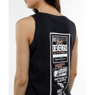 Devergo dámske tričko 455 - Čierna