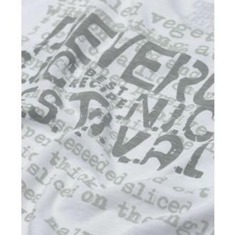 Devergo pánske tričko 806 - Biela