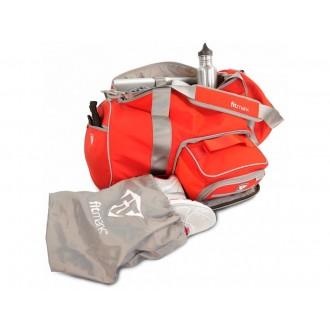 Fitmark taška do fitka Transporter Duffel - Červená