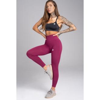 Gym Glamour Legíny Bezšvové Jelly Berry