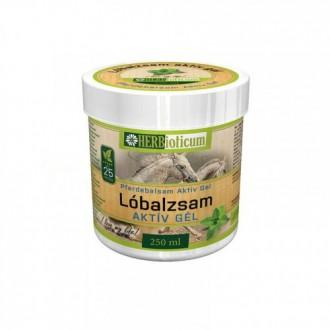 Herbioticum Pferdebalsam Aktívny gél Konská masť chladivá