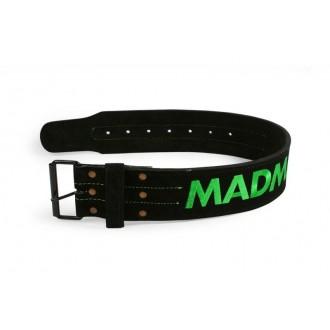"MadMax Vzpieračský opasok Suede Single Prong belt - 4"" 10 mm"