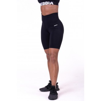 Nebbia cyklistické šortky s vysokým pásom Road Hero 683 - Čierne