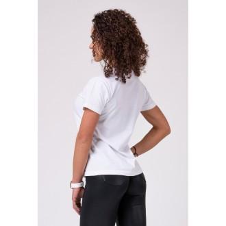 Nebbia Dámske tričko 592 - Biele