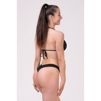 NEBBIA Dámsky Bikini Top Triangle 631 Vrchný diel - Čierny