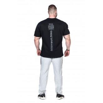 Nebbia HardCore tričko 391 čierna