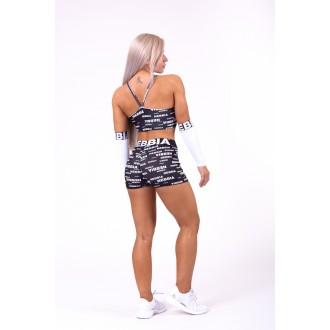 NEBBIA mini šortky Seaqual 772 - Čierne