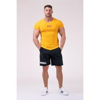 Nebbia Muscle Back Tričko 172 - Žltá