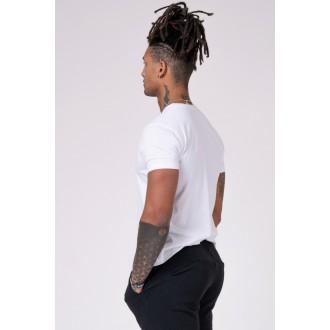 Nebbia Pánske tričko 593 - Biele