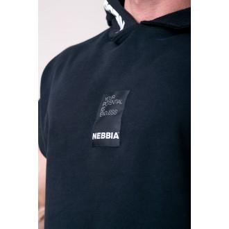 Nebbia Reg top s kapucňou 175 - Čierna