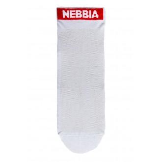 Nebbia SMASH IT členkové ponožky - Biele