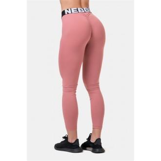 NEBBIA Squat HERO Scrunch Butt legíny 571 - Staroružová