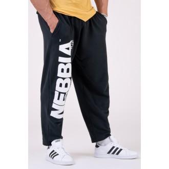 Nebbia tepláky Best Mode On 186 - Čierna