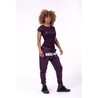 Nebbia tričko Flash Mesh 665 - Burgundy