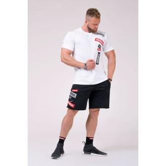 NEBBIA tričko Labels 171 - Biele